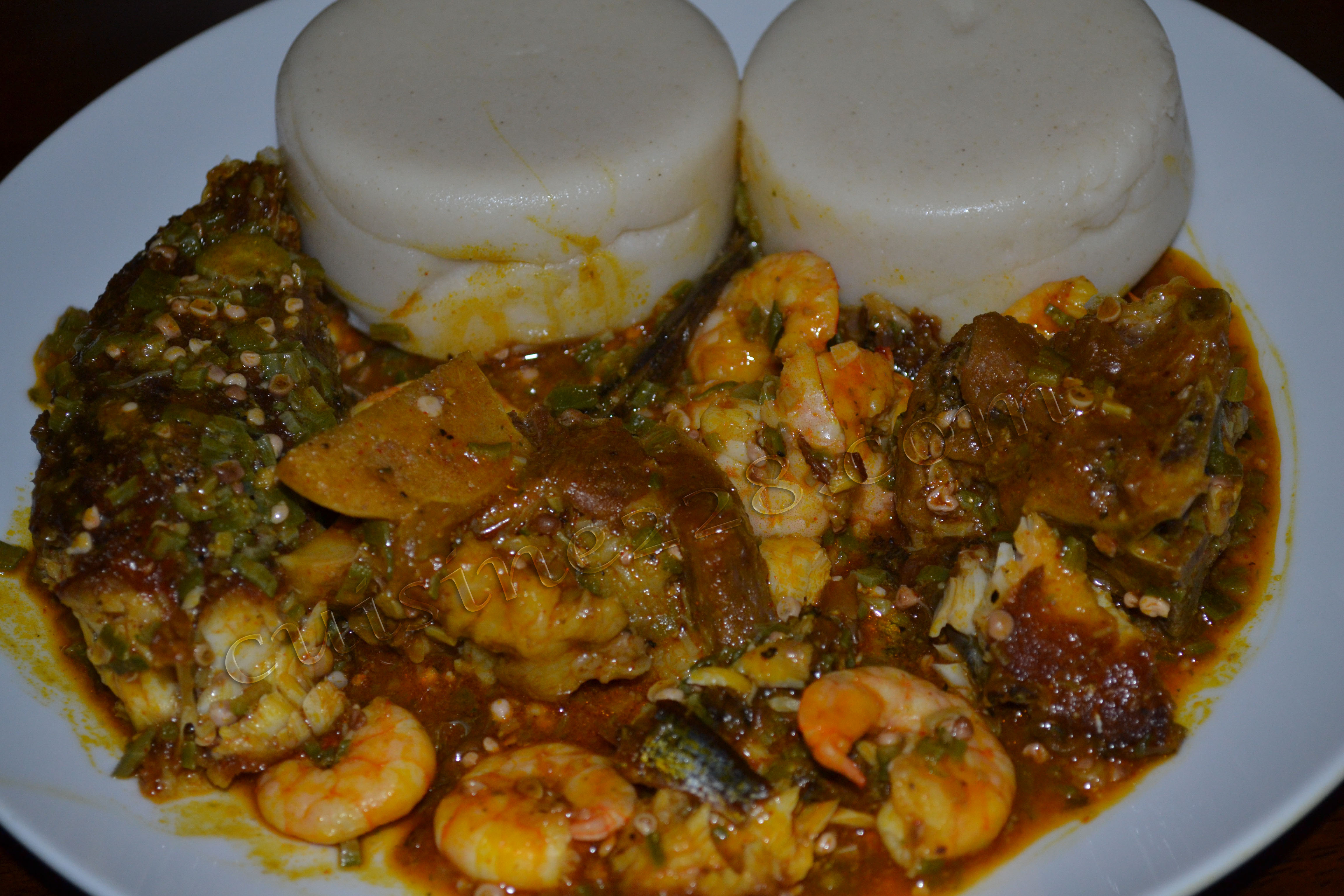 Food fun friday west african pescetarian cuisine ngozi cole for Authentic african cuisine from ghana